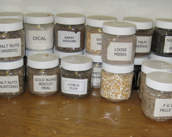 Manufacture of finished feeds