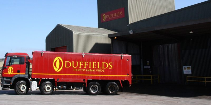 duffields lorry south west