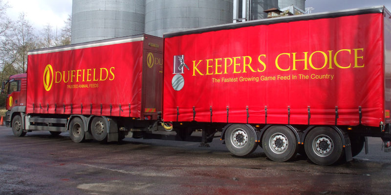Keepers Choice game feeds deliveries