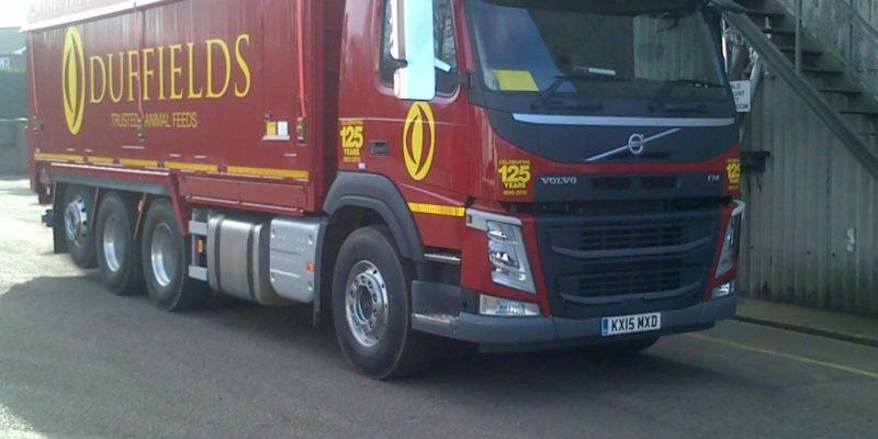 new duffields tri axle truck
